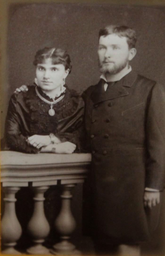 Les époux JOFFRE
