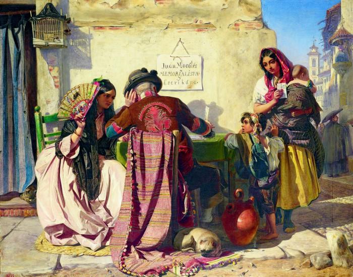 The Letter-Writer of Seville