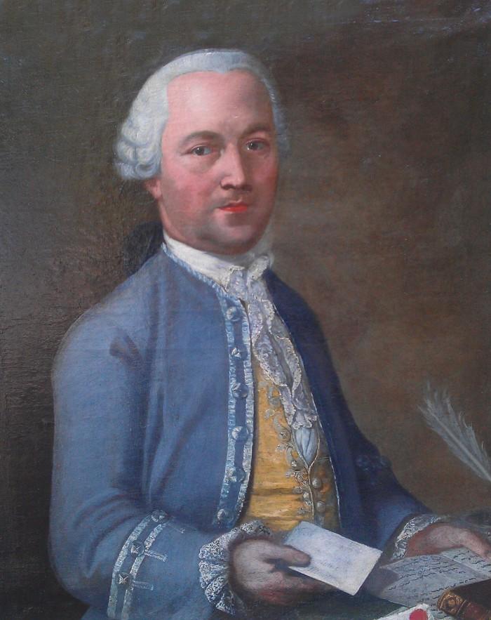 Monsieur  Auzillon négociant à Montpellier