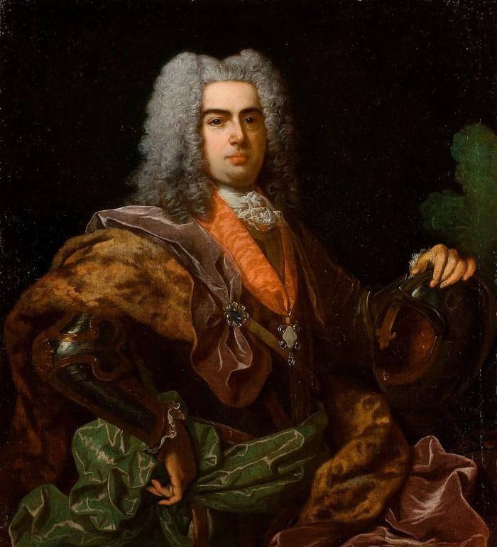 Portrait de Joao V par Jean Ranc, 1729.