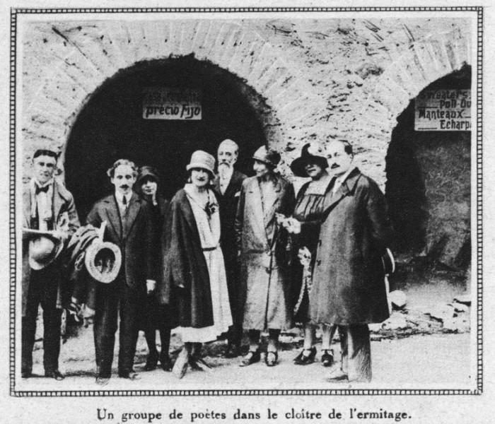 Groupe de poètes roussillonnais à Font-Romeu