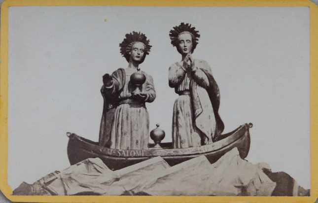 Les saintes Maries sur la barque, CDV 1880.