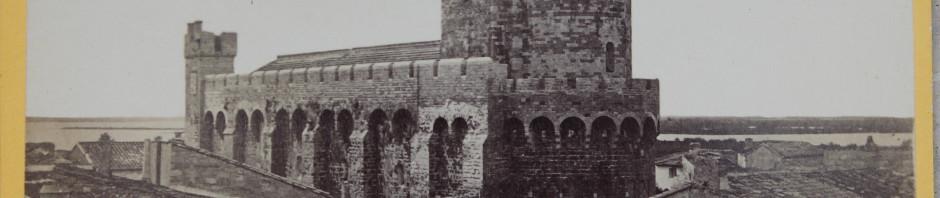 Eglise fortifiée des Saintes Maries de la Mer.