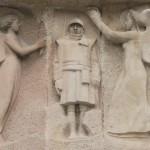 Gustave VIOLET, apothéose du poilu, monument départemental aux morts, Perpignan, 1924.