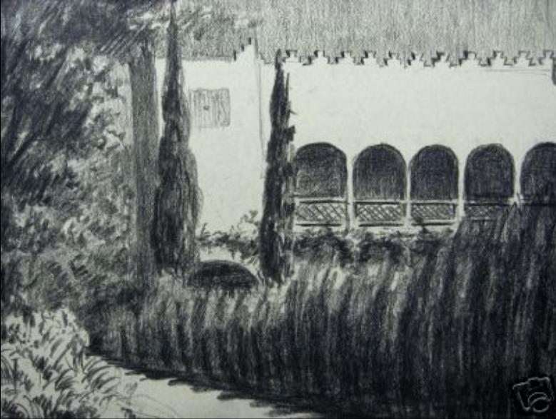 Villa bardou Job à Prades en 1927