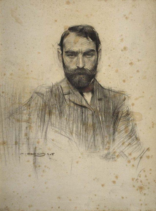 Gustave Violet par Ramon Casas