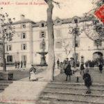 Place du Puig, quartier Saint Jacques de Perpignan.