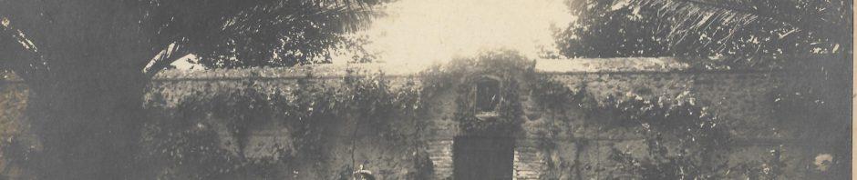 Les SEBE au jardin, 1903, Photo Jorré, Perpignan.