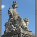 Pradier, statue allégorique pour la ville de Strasbourg.