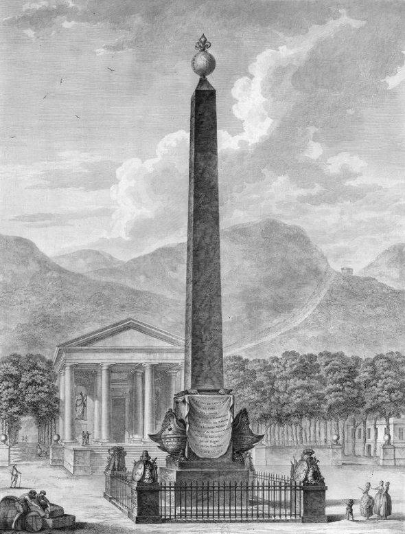 Obelisque de Port-Vendres par De Wailly