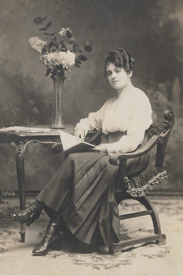 Portrait de madame Pompidor, Perpignan.