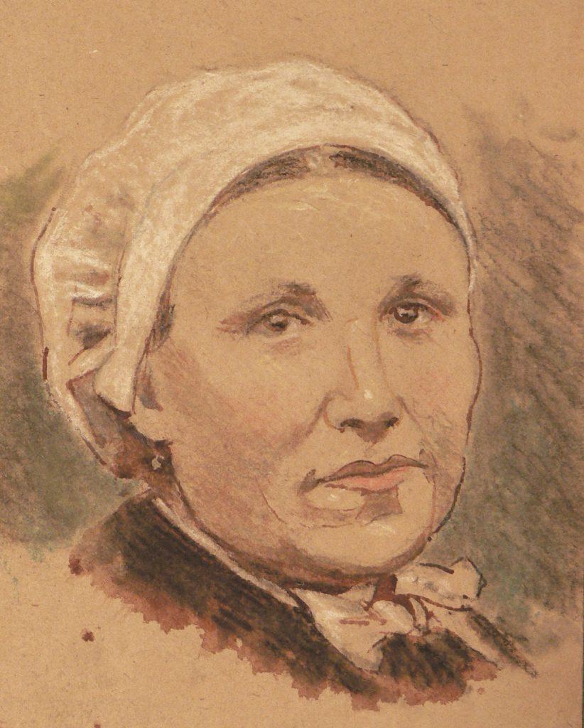portrait de Catalane, Céret, Louis COMPANYO