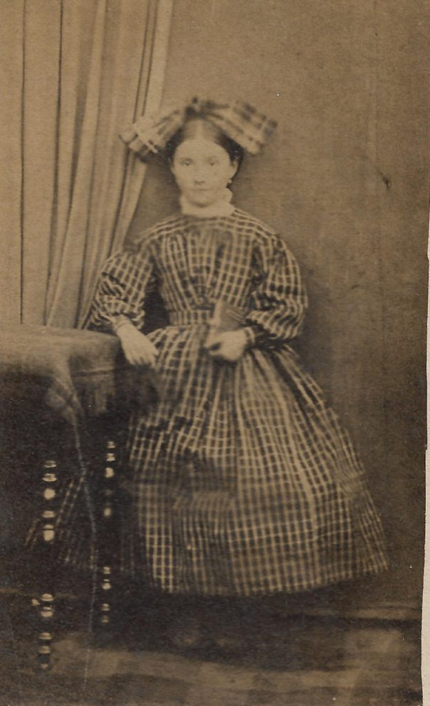 Jeune Alsacienne, Strasbourg, vers 1860.