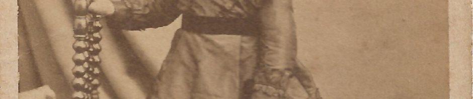Augusta CLARET epouse d Eugène Nombel