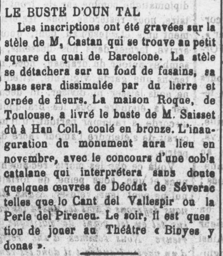 Le Roussillon septembre 1923