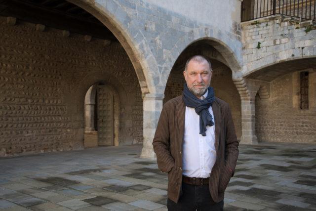 Laurent Fonquernie, curator de l'exposicio de joies